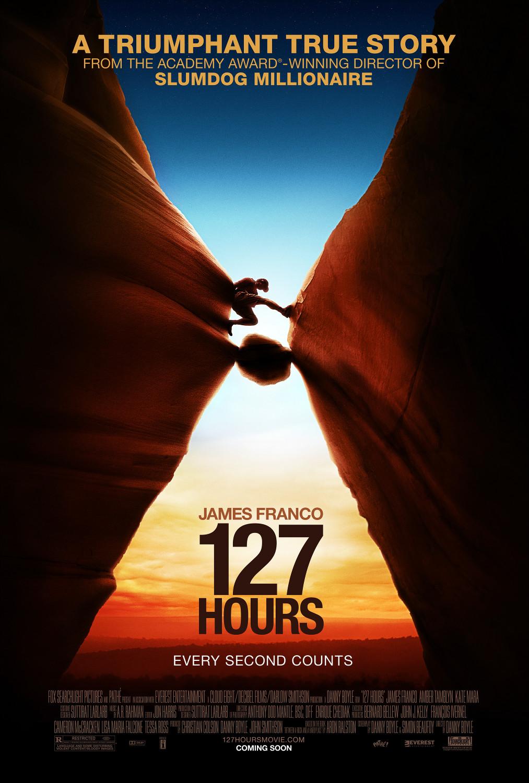 постер 127 часов,127 Hours