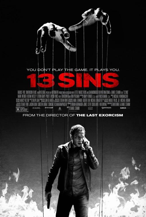 постер 13 грехов,13 Sins