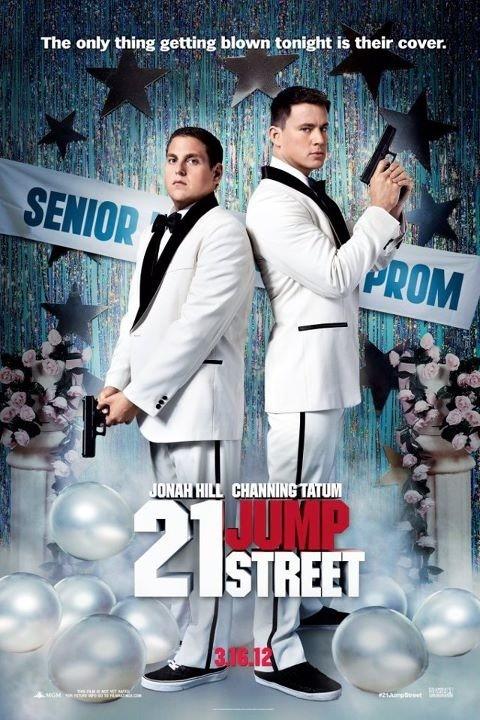 постер Джамп стрит, 21,21 Jump Street