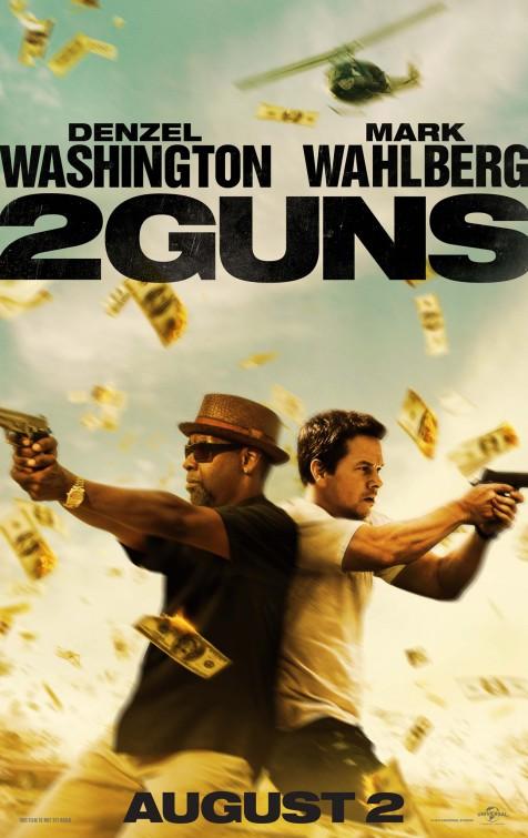 постер Два ствола,2 Guns