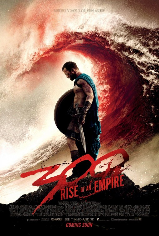 постер 300 спартанцев: Расцвет империи,300: Rise of an Empire