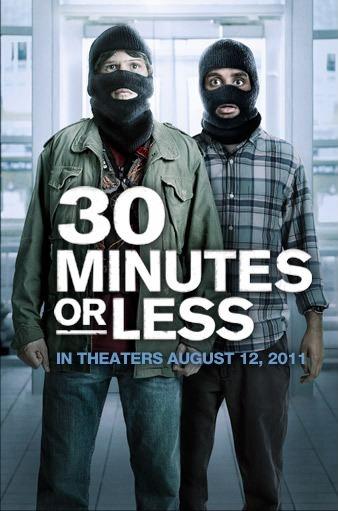 постер 30 минут или меньше,30 Minutes or Less