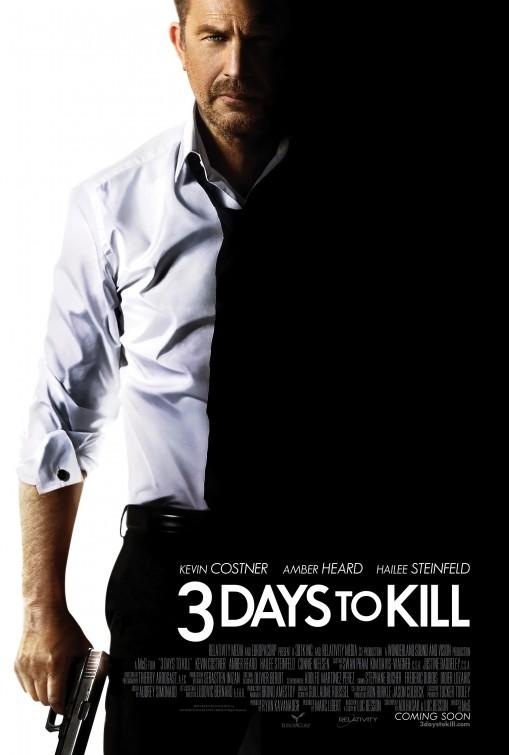 постер Три дня на убийство,3 Days to Kill
