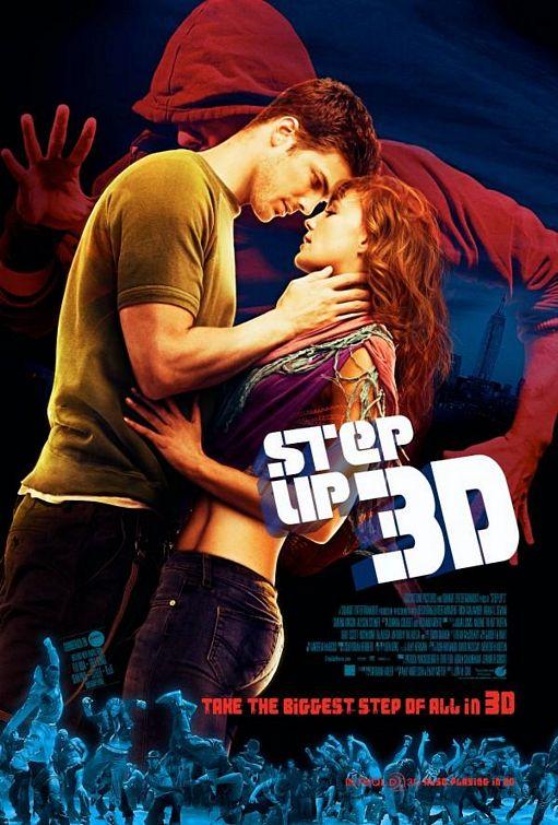 постер Шаг вперед 3D, Step Up 3-D