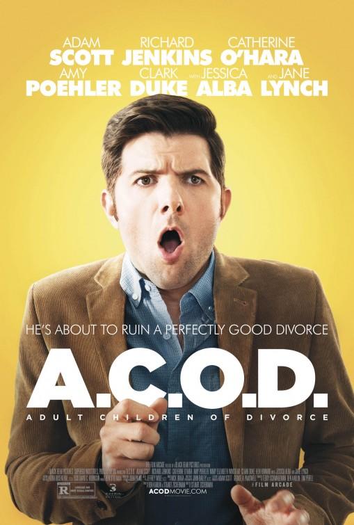 постер Взрослые дети развода,A.C.O.D.