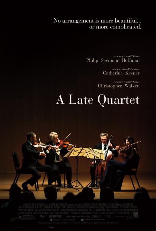 постер Прощальный квартет,A Late Quartet