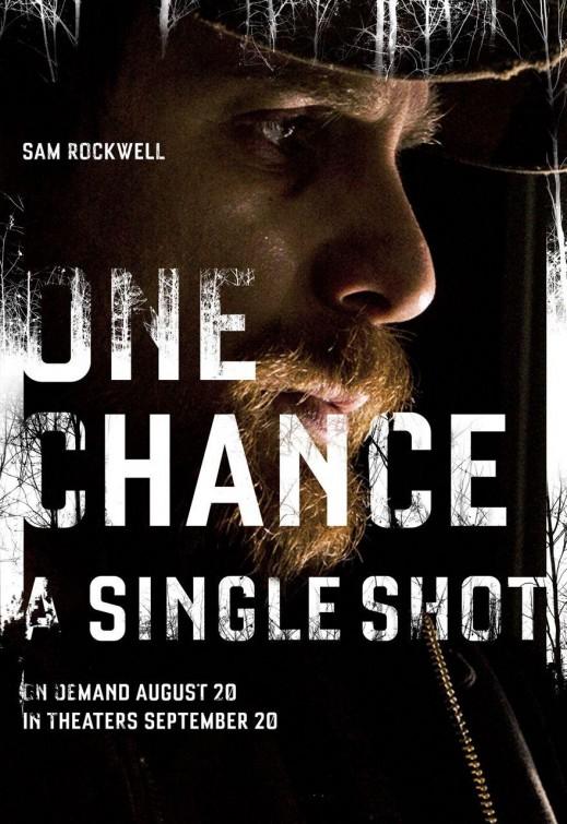 постер Единственный выстрел,A Single Shot