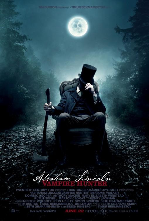 постер Авраам Линкольн: Охотник на вампиров,Abraham Lincoln: Vampire Hunter