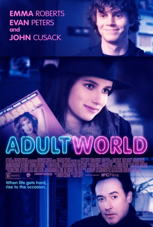 постер Взрослый мир,Adult World