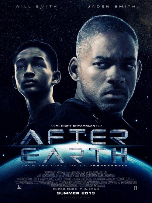 постер После Земли,After Earth
