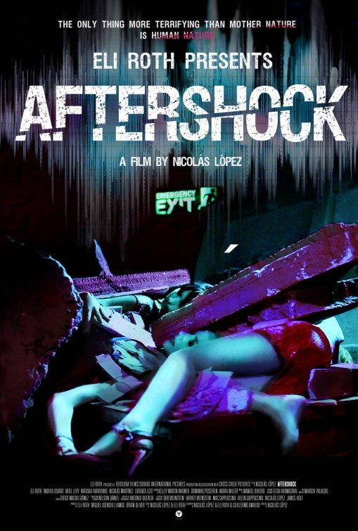 постер Афтершок,Aftershock
