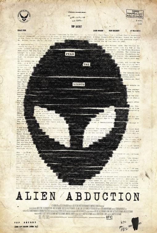 постер Инопланетное похищение,Alien Abduction