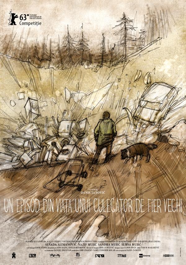 постер Эпизод из жизни сборщика железа,An Episode in the Life of an Iron Picker