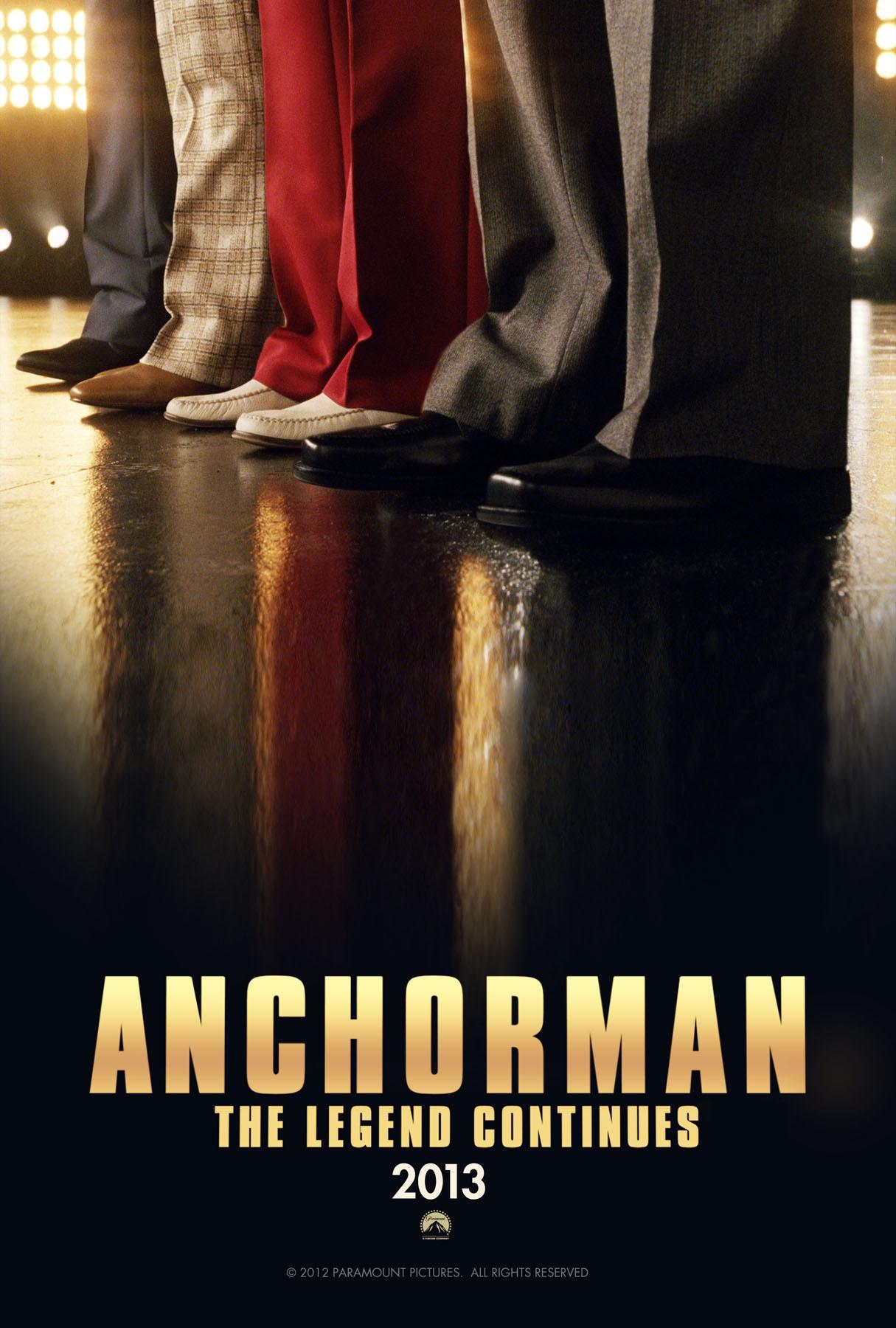 постер Телеведущий: И снова здравствуйте,Anchorman: The Legend Continues
