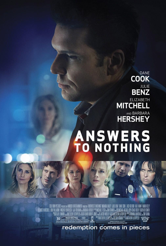постер Ответы ни к чему,Answers to Nothing