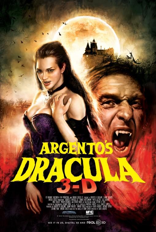 постер Дракула 3D,Argento's Dracula 3D