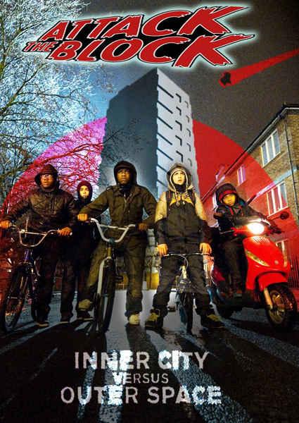 постер Чужие на районе,Attack the Block