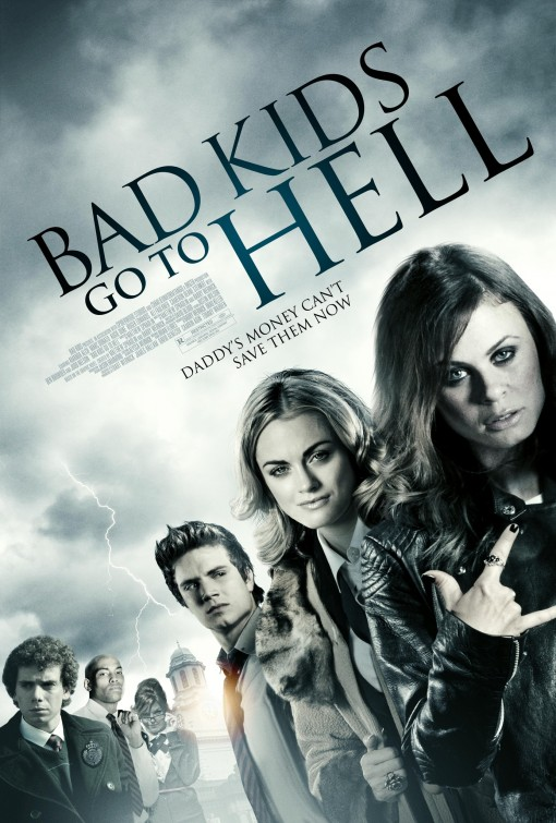 постер Плохие дети отправляются в ад,Bad Kids Go to Hell