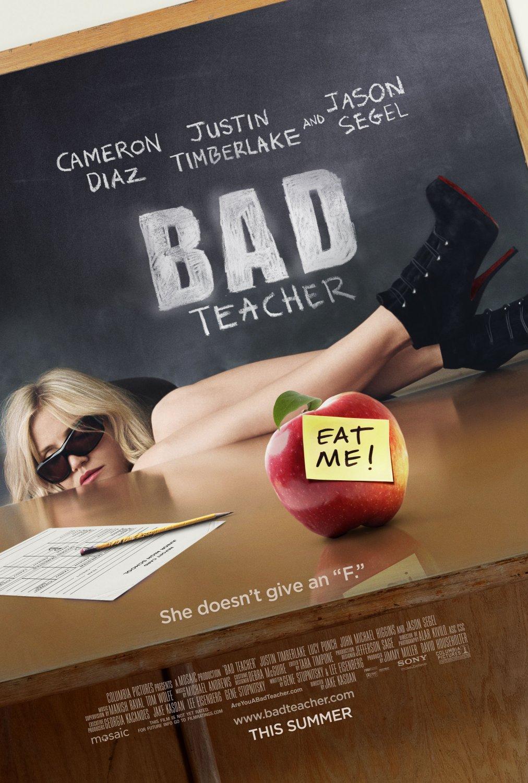 постер Очень плохая училка,Bad Teacher