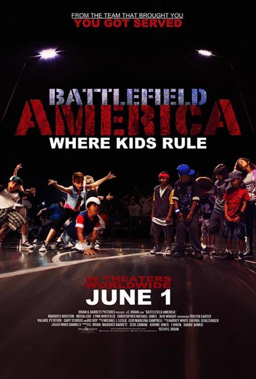 постер Недетские танцы,Battlefield America