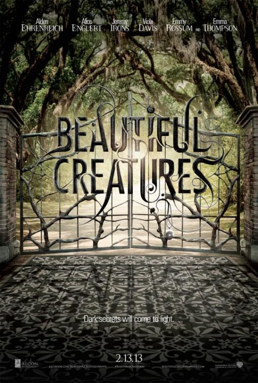 постер Прекрасные создания,Beautiful Creatures