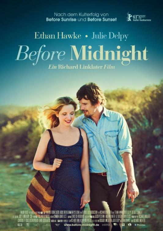 постер Перед полуночью,Before Midnight