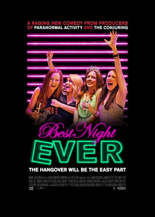 постер Холостячки в Вегасе,Best Night Ever