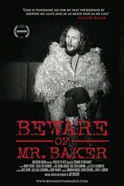 постер Beware of Mr. Baker,Beware of Mr. Baker