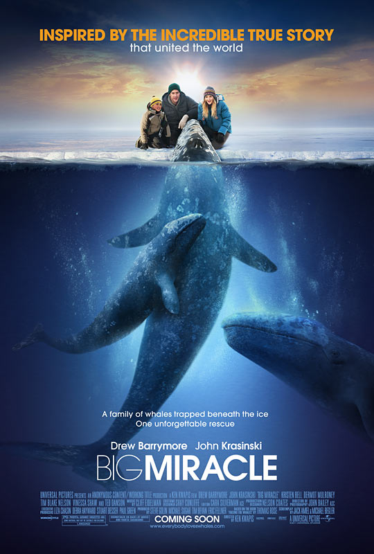 постер Все любят китов,Big Miracle