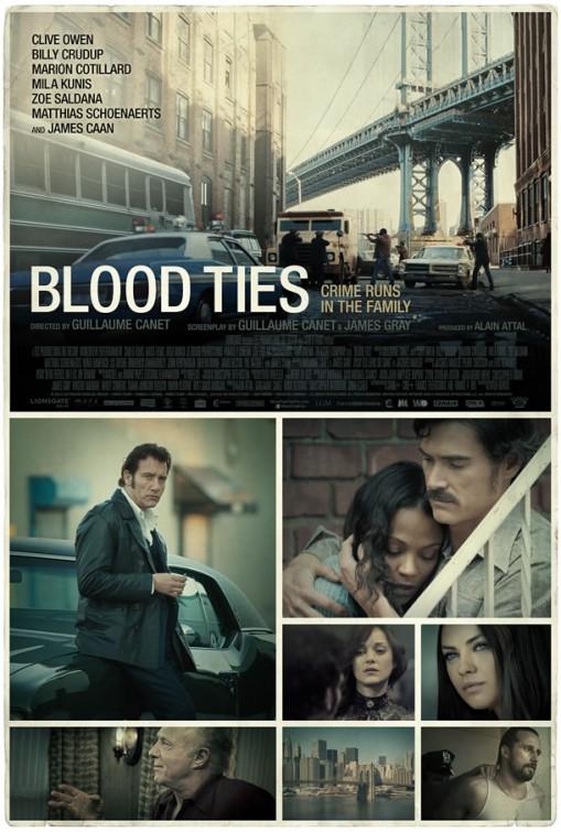 постер Кровные узы,Blood Ties