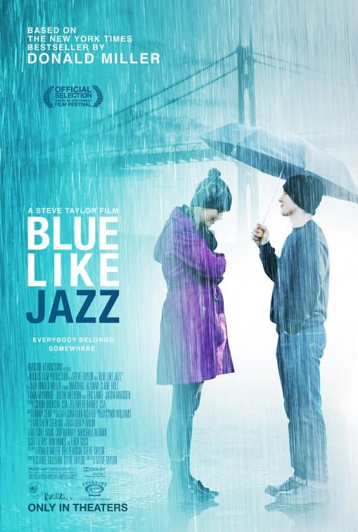 постер Грустный как джаз,Blue Like Jazz