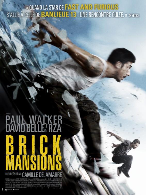 постер 13-й район: Кирпичные особняки,Brick Mansions