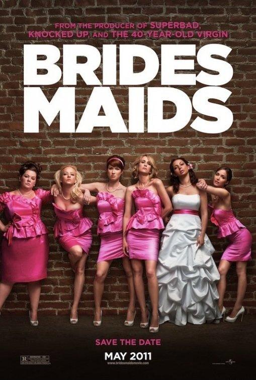 постер Подружки невесты,Bridesmaids
