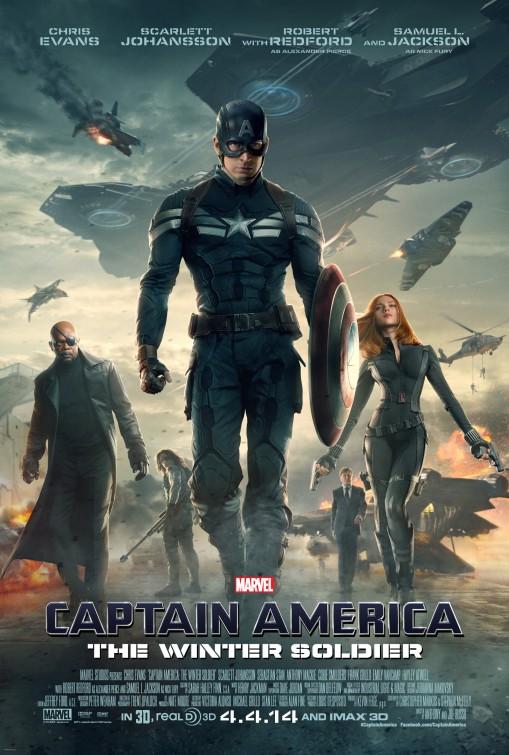 постер Первый мститель: Другая война,Captain America: The Winter Soldier