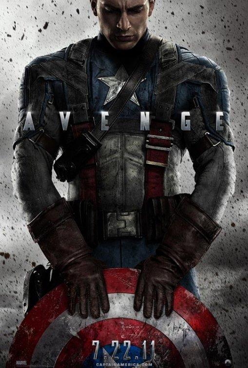 постер Первый мститель,Captain America The First Avenger