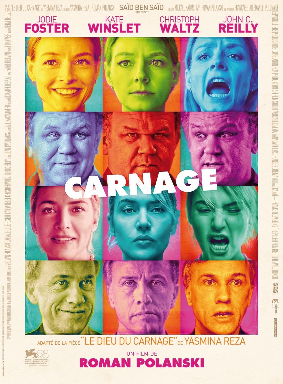 постер Резня,Carnage