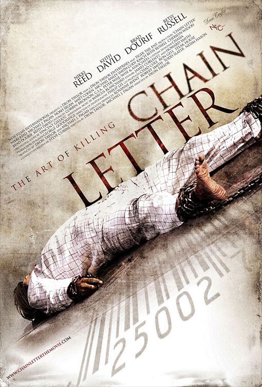 постер Письмо счастья,Chain Letter