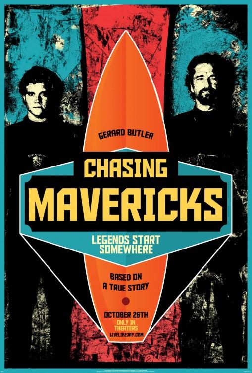 постер Покорители волн,Chasing Mavericks
