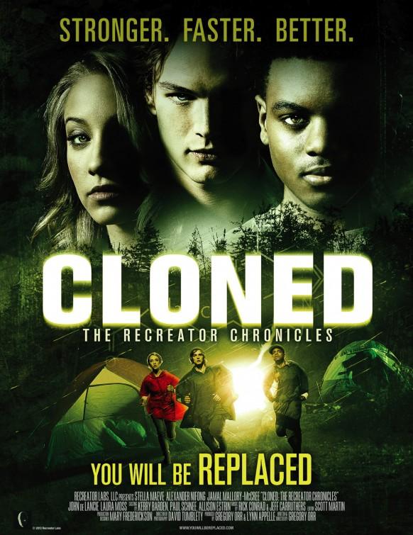 постер Создающий заново,Cloned: The Recreator Chronicles