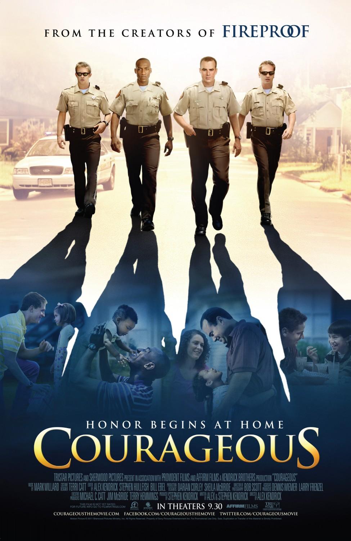 постер Отважные,Courageous