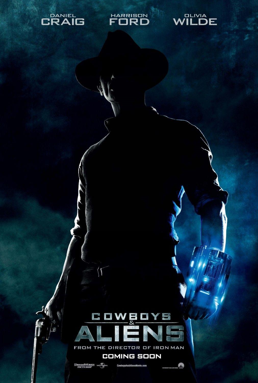 постер Ковбои против пришельцев,Cowboys & Aliens