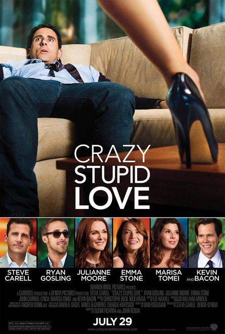 постер Эта - дурацкая - любовь,Crazy, Stupid, Love.