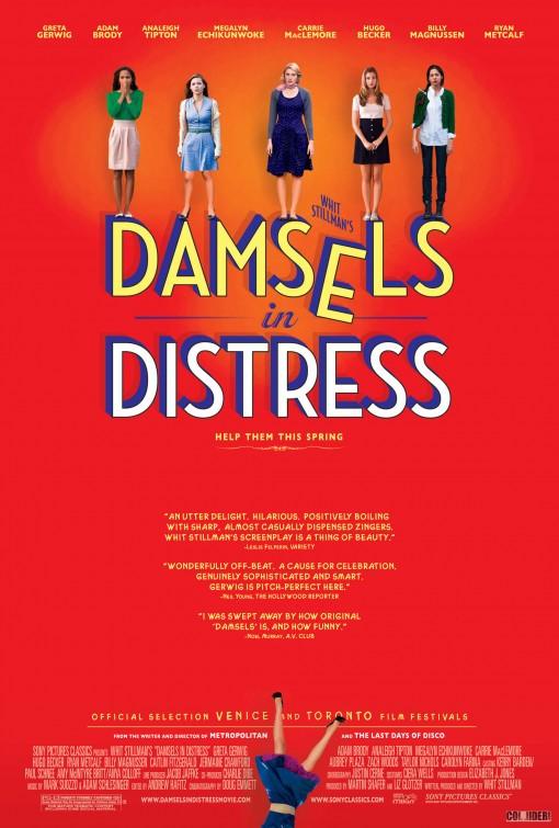 постер Девушки в опасности,Damsels in Distress