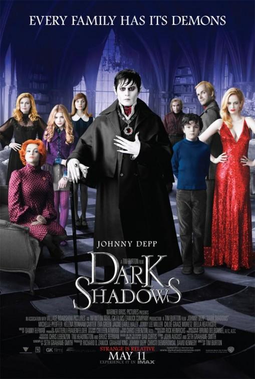 постер Мрачные тени,Dark Shadows