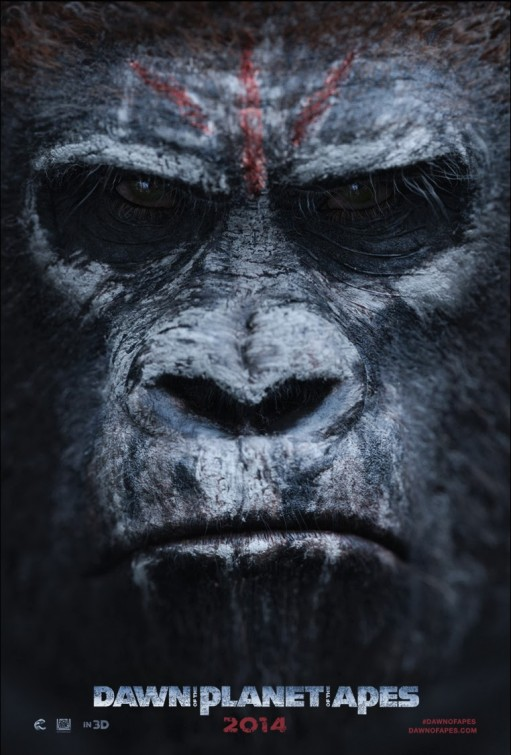 постер Планета обезьян: Революция,Dawn of the Planet of the Apes