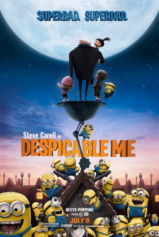 Amazoncom Despicable Me Bluray 3D  Bluray Region