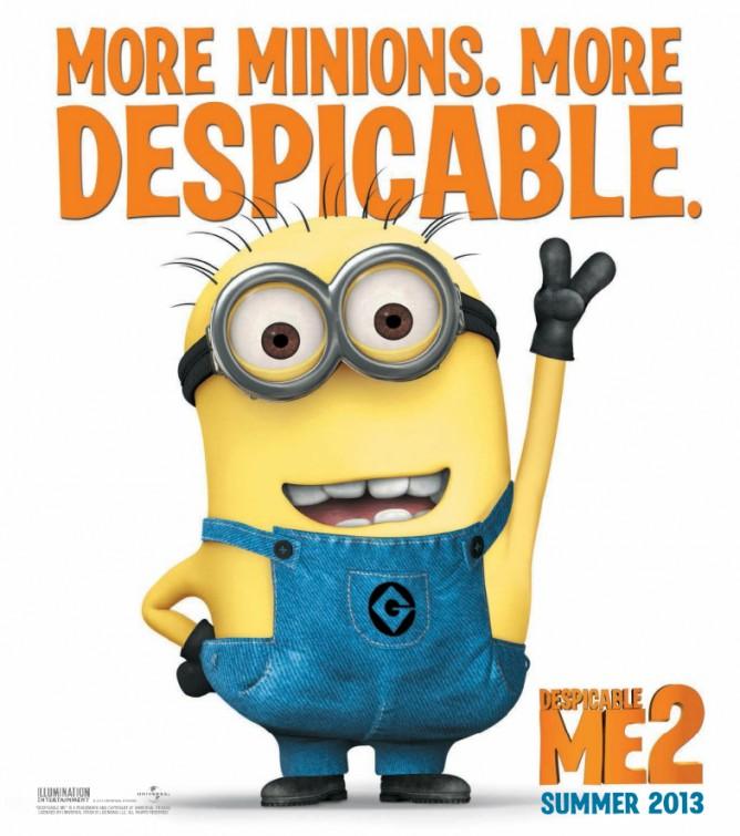 постер Гадкий я 2,Despicable Me 2