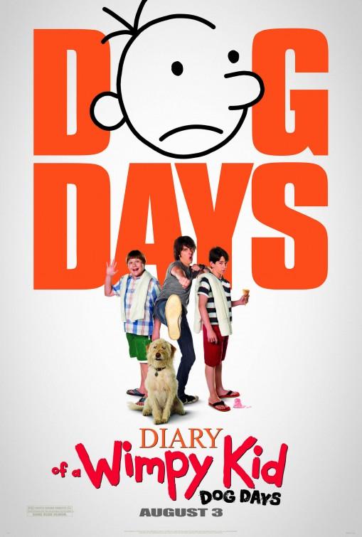 постер Дневник слабака 3,Diary of a Wimpy Kid: Dog Days