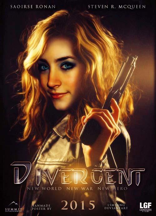 постер Дивергент,Divergent