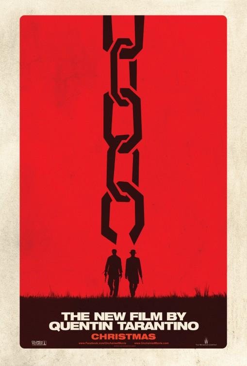 постер Джанго освобожденный,Django Unchained